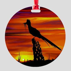 Roadrunner tp Round Ornament