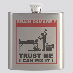 Brain damage,Trust me, I can fix it! Flask