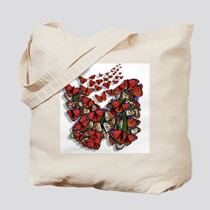 Butterfly tp Tote Bag