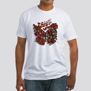 Butterfly tp Fitted T-Shirt