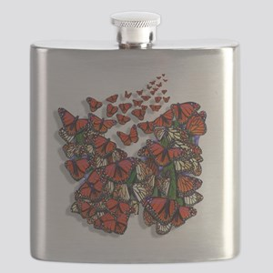 Butterfly tp Flask