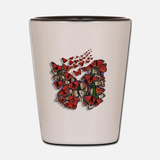 Butterfly tp Shot Glass