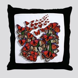 Butterfly tp Throw Pillow