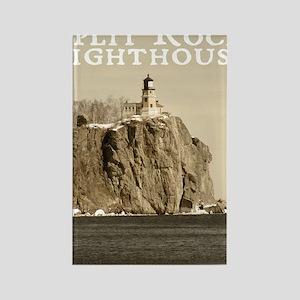 Split Rock Lighthouse State Park Rectangle Magnet
