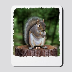 Squirrel nuts w Mousepad