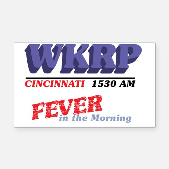 wkrpfever2-04 Rectangle Car Magnet