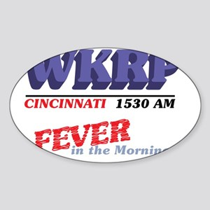 wkrpfever2-04 Sticker (Oval)