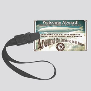Gaslight Gathering Steampunk Con Large Luggage Tag