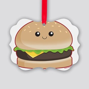 hamburger Picture Ornament