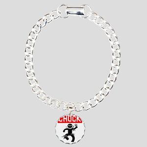 Chucktv Ninja Man 4 Thro Charm Bracelet, One Charm