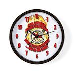 Fire Department Wall Clock