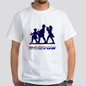 Boston Patriot White T-Shirt