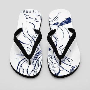 WATERMANSPEARFISHDblueCP Flip Flops