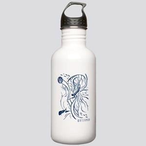 WATERMANSPEARFISHDblue Stainless Water Bottle 1.0L