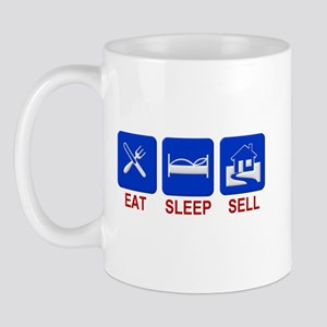 Eat. Sleep. Sell. Mug