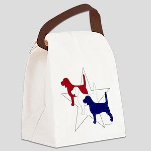 PatrioticBeagles Canvas Lunch Bag