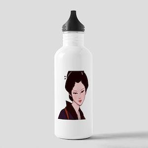 Anime Geisha Girl_iPad Stainless Water Bottle 1.0L
