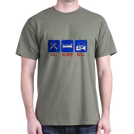 Eat. Sleep. Sell. Dark T-Shirt