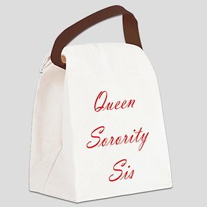 Sorority Canvas Lunch Bag