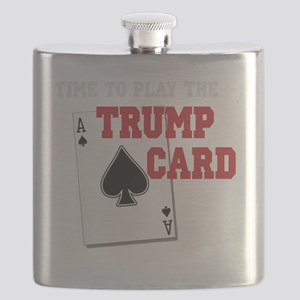 Time to Play the Trump Card copy Flask