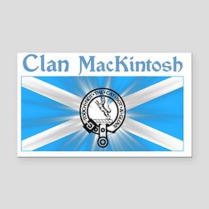 mackintosh-shirt-001a1a Rectangle Car Magnet