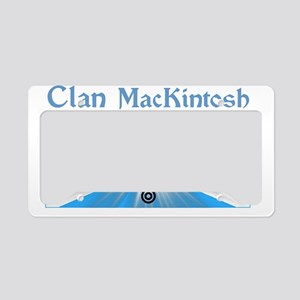 mackintosh-shirt-001a1a License Plate Holder