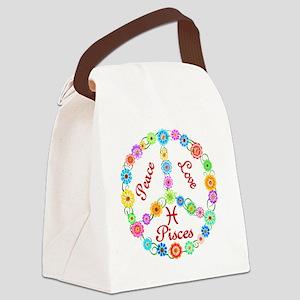 pisces Canvas Lunch Bag