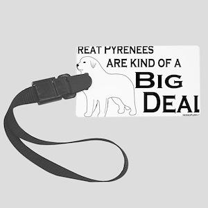 BigDeal_Pyrenees Large Luggage Tag