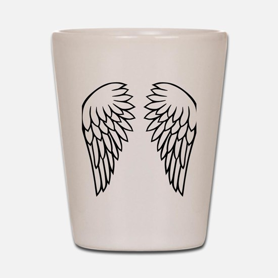 wings_new_2011 Shot Glass