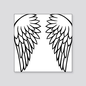 "wings_new_2011 Square Sticker 3"" x 3"""