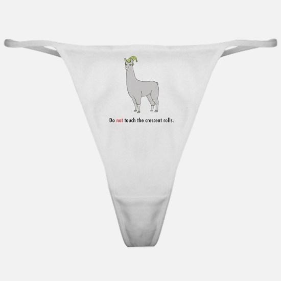 Llamas-D7-WaterBottle Classic Thong