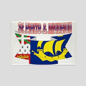 Saint-Pierre and Miquelon flag ribbon Rectangle Ma