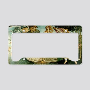 Botticelli Birth of Venus License Plate Holder