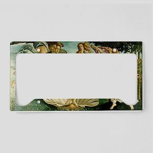 Botticelli Birth of Venus License Plate Holder