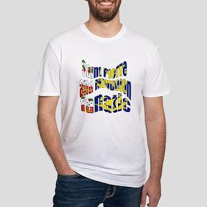 Saint-Pierre et Miquelon sports Fitted T-Shirt
