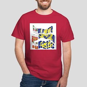 Saint-Pierre et Miquelon sports Dark T-Shirt
