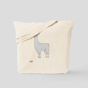 Llamas-D7-BlackApparel Tote Bag