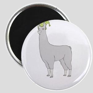 Llamas-D7-BlackApparel Magnet