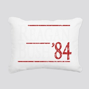 Bush Regan 84 dark tee Rectangular Canvas Pillow