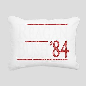 Bush Regan 84 dark tee Rectangular Canvas Pillow