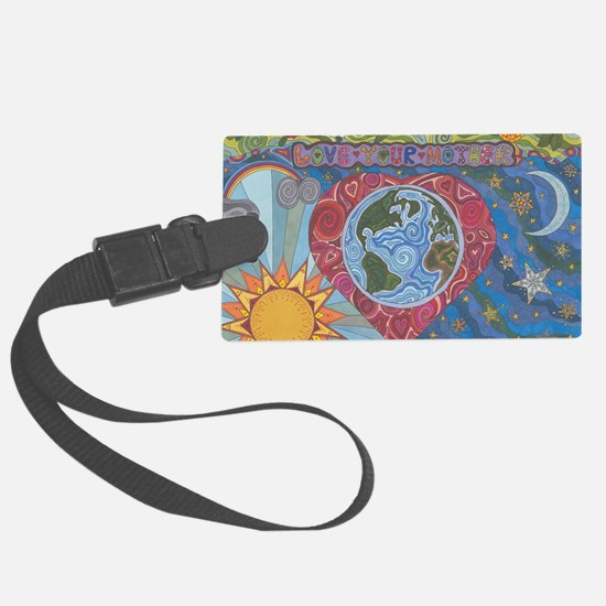 Love Your Mother Luggage Tag