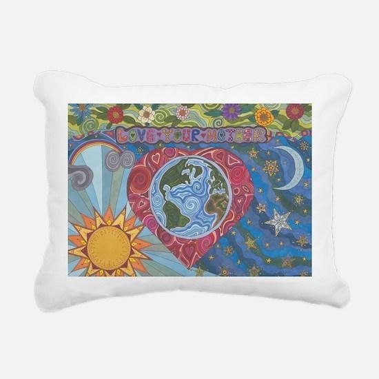 Love Your Mother Rectangular Canvas Pillow
