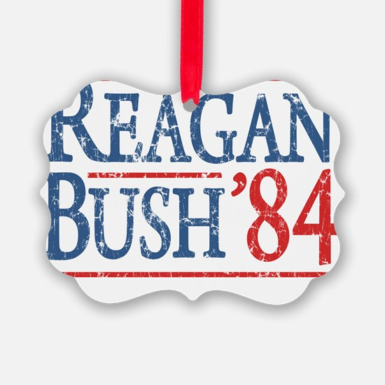 reagan bush 84 t shirt Ornament