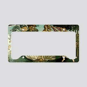 Botticelli Birth of Venus.pos License Plate Holder