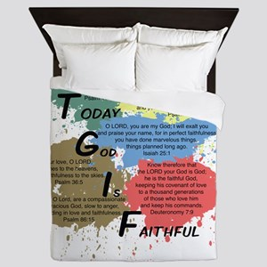 TGIFcolor Queen Duvet