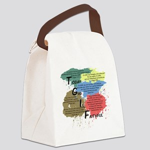 TGIFcolor Canvas Lunch Bag