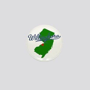 WillingboroTEE Mini Button