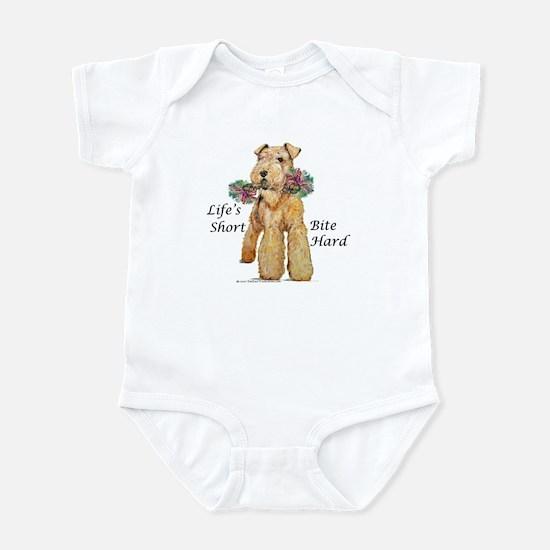Welsh Terrier Bite! Infant Bodysuit