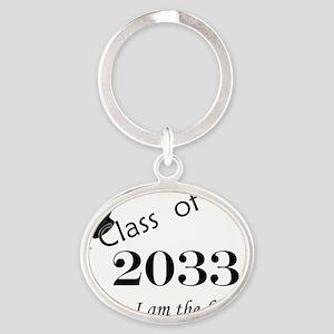 classof2033 Oval Keychain