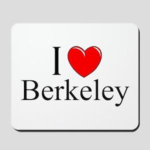 """I Love Berkeley"" Mousepad"